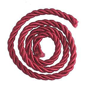 Picture Hanging Cord, Burgundy, sold per yard