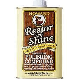 Howard Restor-A-Shine Wood Polishing Compound