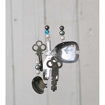 Repurposed Flatware Windchime