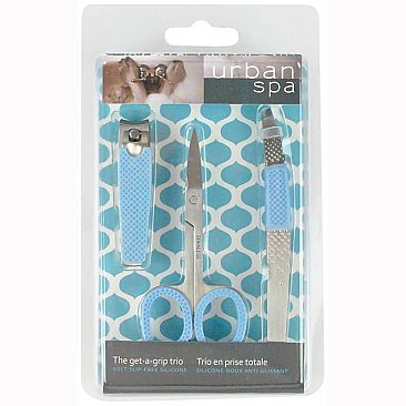 Urban Spa Get a Grip Trio Manicure Set
