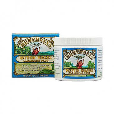 Humphreys Witch Hazel Cleansing Pads