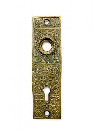 Antique Cast Bronze Aesthetic Style Door Plate