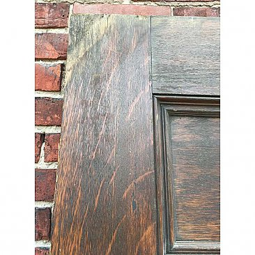 Antique Quartersawn Oak Exterior Door