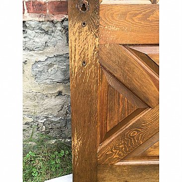 Antique Pine Exterior Door