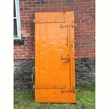 Vintage Richmond Fire Proof Door and Jam