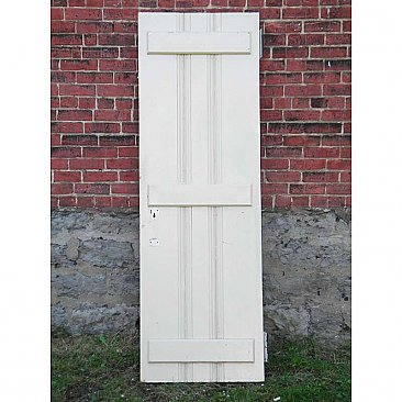 Antique Pine Cabin Door