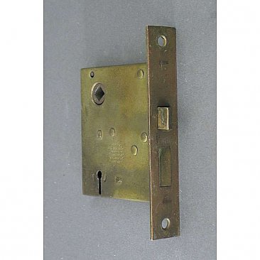 Antique Russell & Erwin Interior Mortise Door Lock