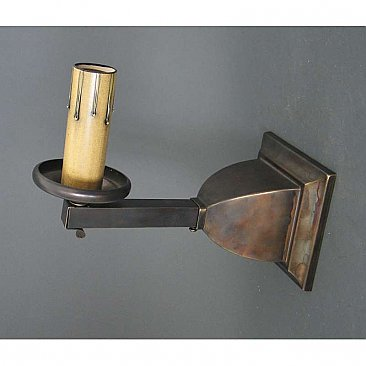 Antique Brass Mission Sconce