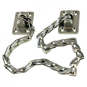 "15"" Transom Window Chain, Brushed Nickel"