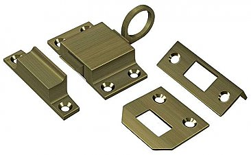Solid Brass Transom Window Latch or Catch