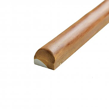 "Archivo Brown 5/8"" x 4-3/4"" Ceramic Pencil Listello Wall Trim Liner Tile - Sold Per Tile - 0.02 Square Feet"