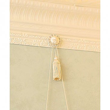Fabric Picture Hanging Kit For Picture Rail, Ivory
