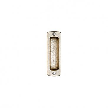 Solid Bronze Pocket Door Flush Pull 4-5/16""