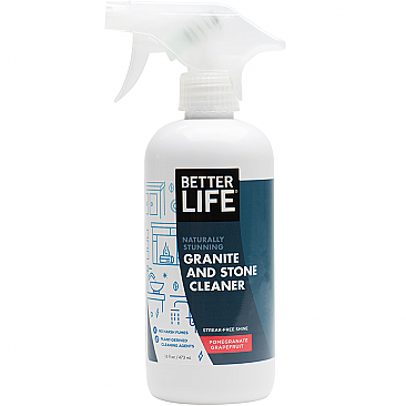 Better Life - Naturally Stunning Granite & Stone Cleaner - Pomegranate & Grapefruit